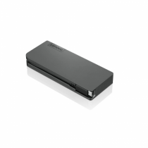 Lenovo 4X90S92381 Notebook-Dockingstation & Portreplikator Verkabelt USB 3.2 Gen 1 (3.1 Gen 1) Type-C Grau