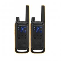 Motorola Talkabout T82 Extreme Twin Pack Funksprechgerät 16 Kanäle Schwarz, Orange