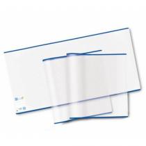 HERMA 20216 Magazin- & Buch-Cover Blau, Transparent 3 Stück(e)