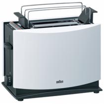 Braun MultiToast HT 450 Toaster 2 Scheibe(n) Weiß