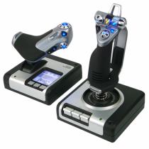 Logitech X52 Flight Control System Joystick