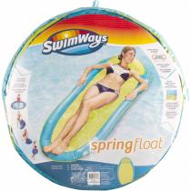 SwimWays Spring Float Original, innovative Wasserhängematte, farblich sortiert