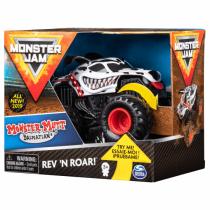 Monster Jam Original Rev 'N Roar Monster Truck mit Soundeffekt, Maßstab 1:43 (Sortierung mit verschiedenen Designs)
