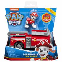 PAW Patrol Marshall Feuerwehrfahrzeug und Figur (Basic Vehicle)