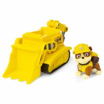 PAW Patrol Rubbles Bulldozer und Figur (Basic Vehicle)