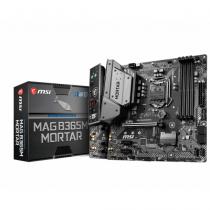 MSI MAG B365M Mortar Intel B365 LGA 1151 (Socket H4) micro ATX