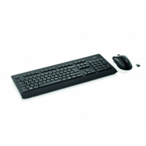 Fujitsu LX960 Tastatur RF Wireless QWERTZ Deutsch Schwarz
