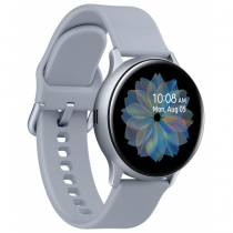 Samsung Galaxy Watch Active 2 Smartwatch SAMOLED 3,02 cm (1.19 Zoll) Silber GPS