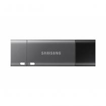 Samsung MUF-64DB USB-Stick 64 GB USB Type-A / USB Type-C 3.2 Gen 1 (3.1 Gen 1) Schwarz, Silber