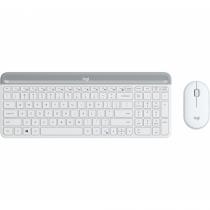 Logitech MK470 Tastatur RF Wireless QWERTZ Deutsch Weiß