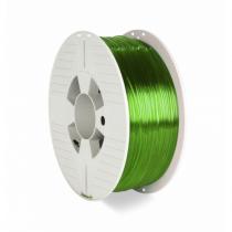 Verbatim 55057 3D-Druckmaterial Polyethylenterephthalatglycol (PETG) Grün, Transparent 1 kg