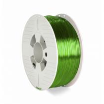 Verbatim 55065 3D-Druckmaterial Polyethylenterephthalatglycol (PETG) Grün, Transparent 1 kg