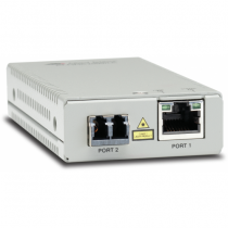 Allied Telesis AT-MMC2000/LC-960 Netzwerk Medienkonverter 1000 Mbit/s 1310 nm Multi-Modus Grau