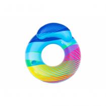 Bestway 43252 Aufblasbares Spielzeug für Pool & Strand Mehrfarbig Schwimmring Muster PVC