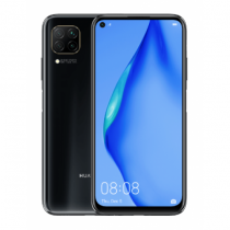 Huawei P40 lite 16,3 cm (6.4 Zoll) 6 GB 128 GB Hybride Dual-SIM 4G USB Typ-C Schwarz Android 10.0 Mobile Dienste von Huawei (HMS) 4200 mAh