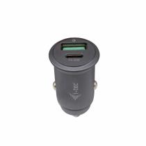 i-tec Car Charger 1x USB-C PD 30 W, 1x USB QC 3.0