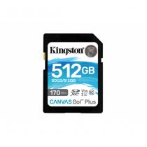 Kingston Technology Canvas Go! Plus Speicherkarte 512 GB SD Klasse 10 UHS-I