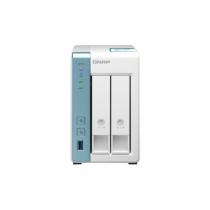 QNAP TS-231K NAS & Speicherserver Tower Eingebauter Ethernet-Anschluss Weiß Alpine AL-214