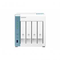 QNAP TS-431K NAS & Speicherserver Tower Eingebauter Ethernet-Anschluss Weiß Alpine AL-214