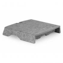 BakkerElkhuizen Q-Riser 50 Freistehend Grau