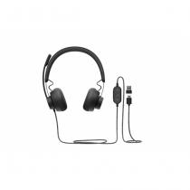 Logitech Zone Wired UC Kopfhörer Kopfband Schwarz