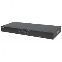 Intellinet 506441 Tastatur/Video/Maus (KVM)-Switch Rack-Einbau Schwarz