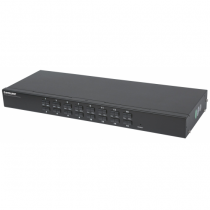 Intellinet 506496 Tastatur/Video/Maus (KVM)-Switch Rack-Einbau Schwarz
