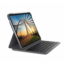 Logitech Slim Folio Pro Tastatur für Mobilgeräte QWERTZ Deutsch Graphit Bluetooth