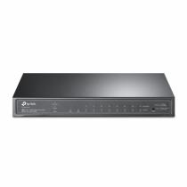 TP-LINK TL-SG2210P Netzwerk-Switch Managed L2/L4 Gigabit Ethernet (10/100/1000) Power over Ethernet (PoE) Schwarz