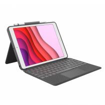 Logitech Combo Touch Tastatur für Mobilgeräte QWERTZ Schweiz Graphit Smart Connector