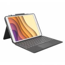Logitech Combo Touch Tastatur für Mobilgeräte QWERTZ Deutsch Graphit Smart Connector
