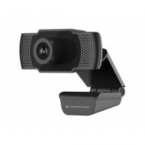 Conceptronic AMDIS 1080P Full HD-Webcam mit Mikrofon