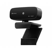 Sandberg 134-14 Webcam 2 MP 1920 x 1080 Pixel USB 2.0 Schwarz