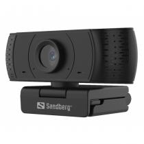 Sandberg 134-16 Webcam 2 MP 1920 x 1080 Pixel USB 2.0 Schwarz