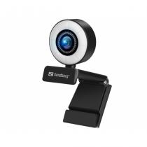 Sandberg 134-21 Webcam 2 MP 1920 x 1080 Pixel USB 2.0 Schwarz