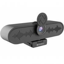 Sandberg 134-24 Webcam 3264 x 2448 Pixel USB 3.2 Gen 1 (3.1 Gen 1) Schwarz