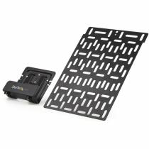 StarTech.com TV-Zubehör Universal Wandhalterung - Verstellbare Halterung TV- und Wand - Mediaplayer / FritzBox / Router / Modem / Apple TV - Kabelboxhalterung hinter dem Fernseher - 5 kg
