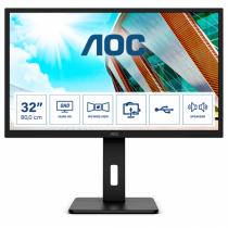 AOC P2 Q32P2 Computerbildschirm 80 cm (31.5 Zoll) 2560 x 1440 Pixel 2K Ultra HD LED Schwarz