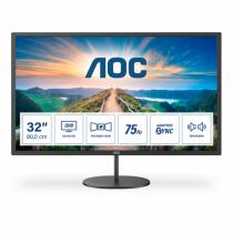 AOC V4 Q32V4 Computerbildschirm 80 cm (31.5 Zoll) 2560 x 1440 Pixel 2K Ultra HD LED Schwarz