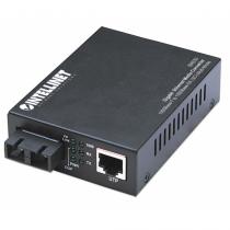 Intellinet Gigabit Ethernet Medienkonverter, 1000Base-T auf 1000Base-SX (SC) Multimode, 550 m