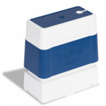 Brother PR1850E6P Stempel 18 x 50 mm Blau